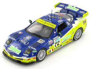 Chevrolet-Corvette-C5-R-72-Le-Mans-2006-1-43-Budget
