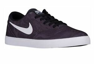 Men's Nike SB Check Canvas Premium Dark Grey/White-Black 807417 010