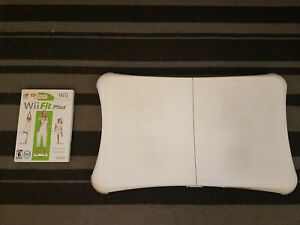 Nintendo-Wii-Balance-Board-With-Wii-Fit-Plus-Cleaned-amp-Tested-Fast-Shipping