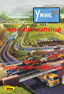 Triang-Minic-Motorway-1960-039-s-Large-A3-Size-Poster-Advert-Leaflet-Sign-Fantastic