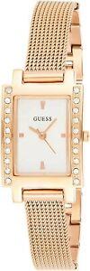 Nuevo Guess Señoras Oro Cuarzo 12 hora Cuadrante Reloj w0953L3RRP £ 160
