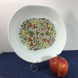 Corning Ware Corelle Serving Platter Plate Oval Meat Tray INDIAN SUMMER 12x10