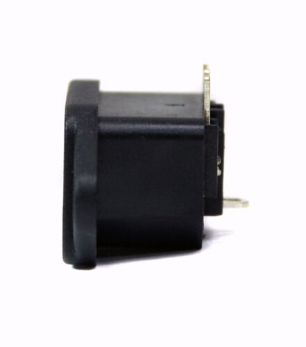 5pc IEC AC Inlet Jack Socket 3P JR101-PCB JR-101-PCB 10A 250V RoHS JEC Taiwan