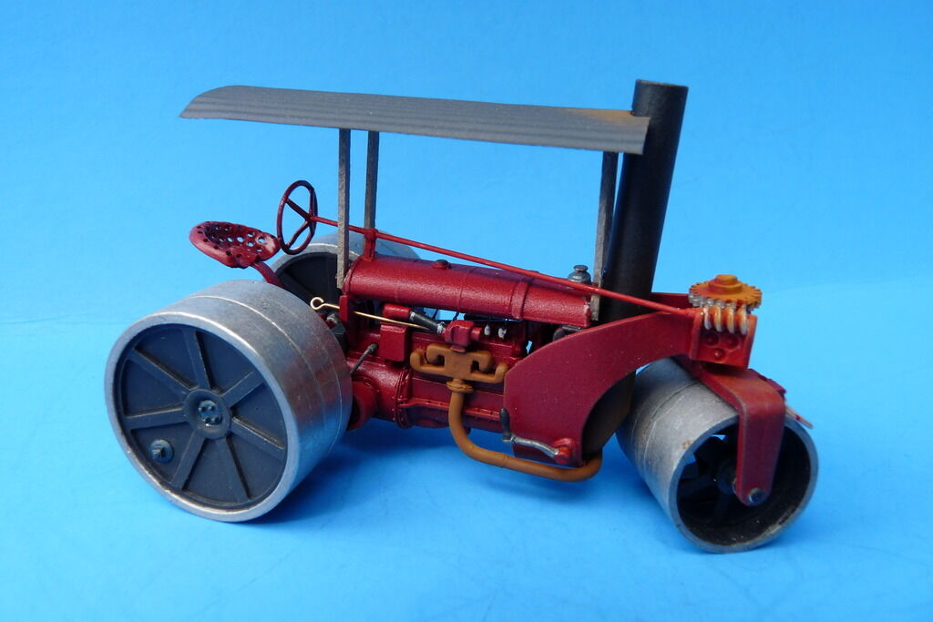 O On3 On30 WISEMAN MODEL SERVICES FORDSON POWErosso  AUSTIN PUP  ROAD ROLLER KIT