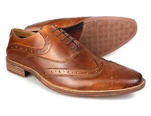 Marrón Vestir 1831tEbay Premium De Hombre Oxford Zapatos Piel Para shdCtrQ