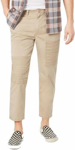 Rustic Khaki 38 American Rag Men/'s Khaki Slim Fit Chino Pants NEW