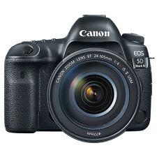 Canon EOS 5D Mark IV 30.4MP Digital SLR Camera - Black (Kit w/ EF 24-105mm f/4L IS II USM Lens)