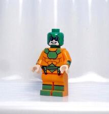A853 Lego CUSTOM PRINTED MIRROR MASTER MINIFIG Sam Scudder JUSTICE LEAGUE Flash