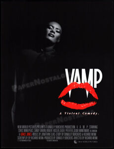 VAMP-Original-1986-Trade-studio-promo-poster-ad-GRACE-JONES-CHRIS-MAKEPEACE