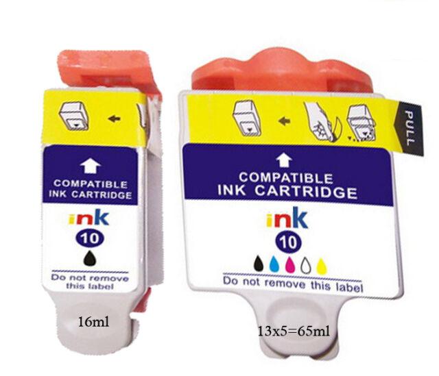2 Non-Original pour Kodak N°10 Easyshare 5000 5100 CARTOUCHES D'Encre