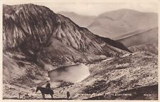 SNOWDON - ASCENT FROM LLANBERIS, MAN ON PONY BY FRITH