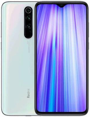 Smartphone Xiaomi Redmi Note 8 Pro 6GB + 128GB Bianco Versione Global Banda 20