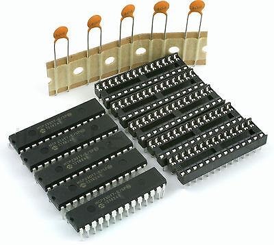 5X Microchip MCP23017-E/SP  I2C 16Bit IO Expander 28Dip for  Raspberry Pi etc