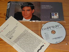 TONY ROY - I'M YOURS FOREVER / 1 TRACK MAXI-CD 1999 MINT! & INFO-FACTS