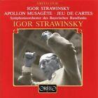 Apollon Musagete Jeu De Cartes Igor Stravinsky Audio CD