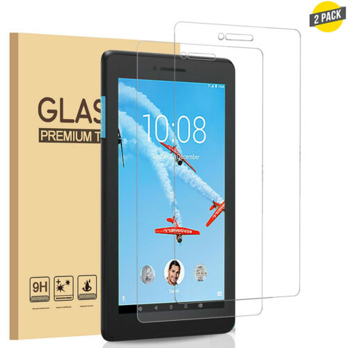 2 Pack Lenovo TAB E8 Tempered Screen Protector for TAB E8 8 Inch 2018 Tablet
