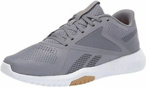 Reebok Womens Flexagon Force 2.0 Fabric Low Top Lace Up, Cold Grey, Size 7.5 A4J