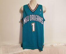 NIKE Baron Davis #1 New Orleans Hornets Adult Green XL Jersey