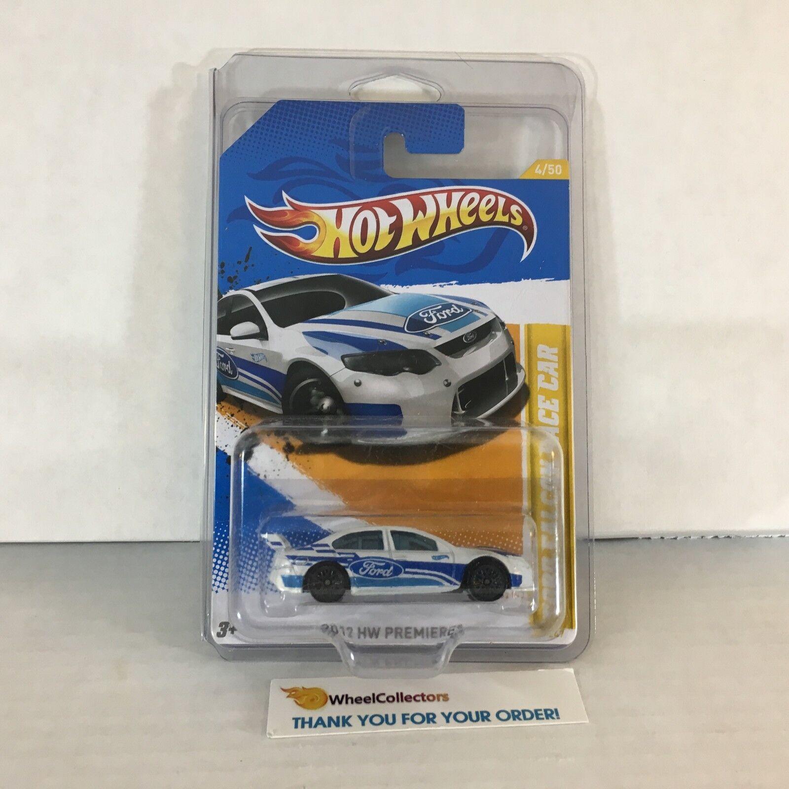 Ford Falcon Race Car  Lace Rims Variation  2012 Hot Wheels  ZA27
