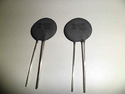 2 x WS560 10 OHM 5A Power Thermistor NTC by WECC New 2 pieces
