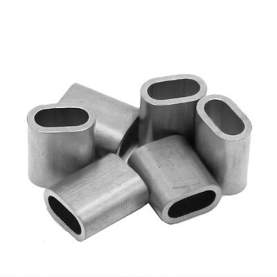 Pressklemmen 2,5 mm Presshülsen Hülsen Aluminium Hülse DIN3093  50 Stück