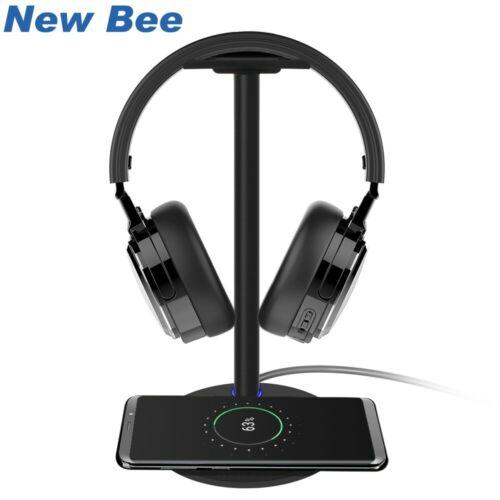 Baseus Headphone Holder Wireless Charging Design Metal Texture Headphone stand