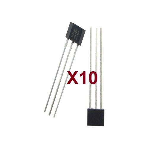 2 5 y 10 Unidades AH3503-3503  Lote De 1 Sensor Magnetico Efecto HALL 503