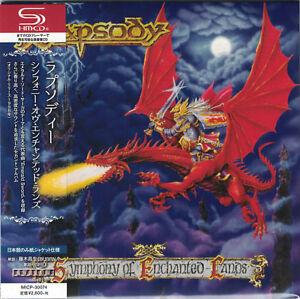 RHAPSODY-Symphony-Of-Enchanted-Lands-Japan-Mini-LP-SHM-CD-Luca-Turilli