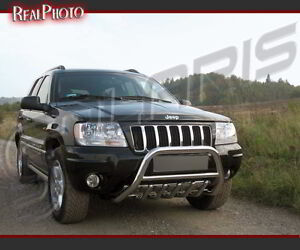 Image Is Loading JEEP GRAND CHEROKEE 99 04 BULL BAR NUDGE