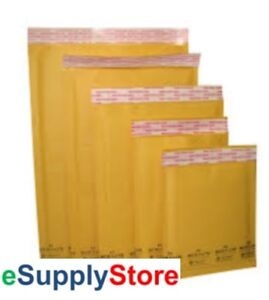 SuperPackage® 5000 #000  4 X 8  Kraft Bubble Mailers Padded Envelopes