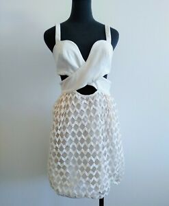 Alice-Mccall-Off-White-Bustier-Cut-Out-party-Dress-summer-S-AU-8-US-4
