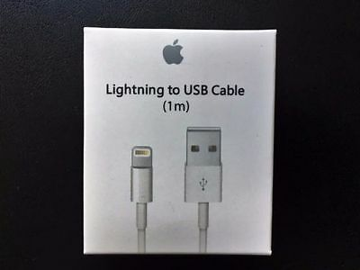 NEW 1M GENUINE OEM Original iPhone 5 5S 5C 6 6S SE 7 lightning charging cable
