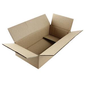 "50 8x4x2 ""EcoSwift"" Brand Cardboard Box Packing Mailing Shipping Corrugated"