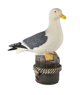 Deko Möwe See Vogel Figur Maritim Skulptur Garten Möwenfigur Seemöwe Lachmöwe Unterscheidungskraft FüR Seine Traditionellen Eigenschaften