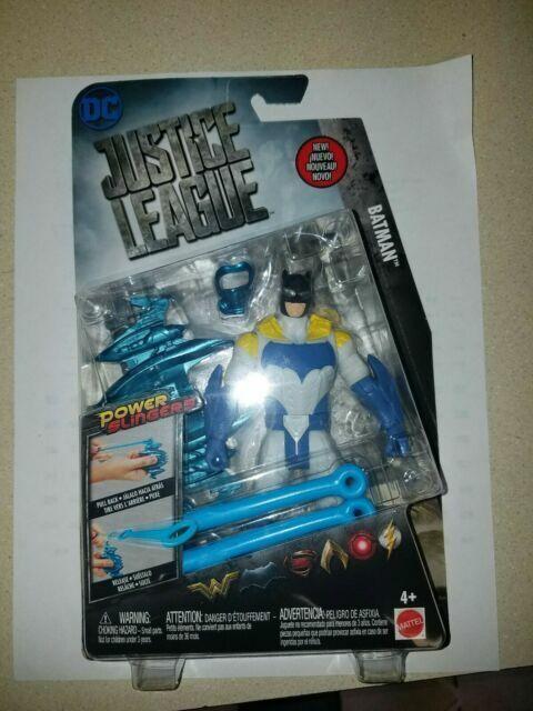 """Dc Justice League Power Slingers Batman 6"""" Action Figure /""""New in Box/"""""""