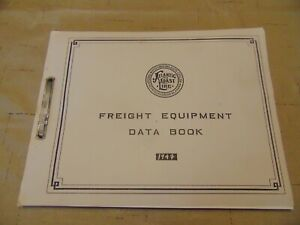 Atlantic-Coast-Line-Freight-Equipment-Data-Book-1947-Printed-in-USA-Excellent