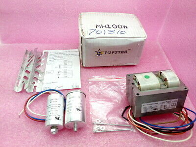 100 Watt Pulse Start Metal Halide Ballast Kit 4 Tap Plusrite 7204
