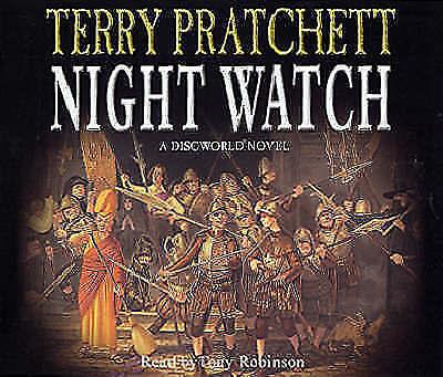 1 of 1 - Night Watch: Discworld Novel 29 by Terry Pratchett CD-Audio 2002 read by Tony Ro