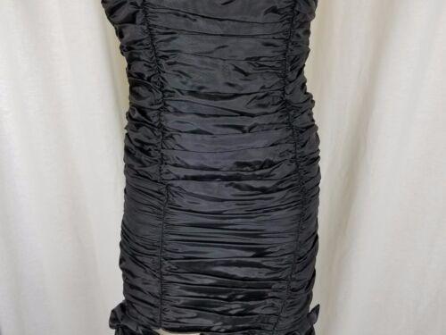 Mcclintock Wiggle Sax Gerüscht dress Spitze Schwarze Jessica Vintage Gunne qnvSxwZgqf