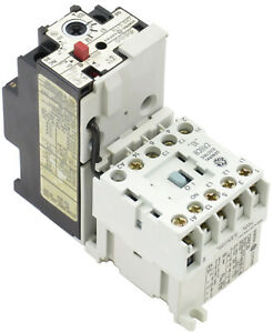 GE Miniature Contactor + Overload Relay Magnetic Starter Choose Coil on magnetic contactor with overload relay, 8 pin relay wiring, electrical relay wiring, magnetic energy, control relay wiring, 24vdc contactor relay wiring,