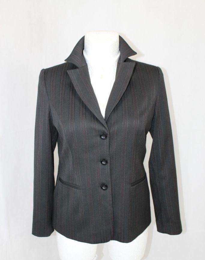 Wissmach Womens Blazer, Jacket Size 40-42, Grey