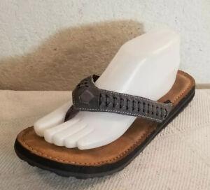 Apt.9 Biege Jewel Crystal Thong Sandals Flip Flops Shoes
