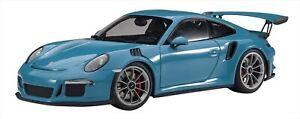 AUTOart-1-18-Porsche-911-991-GT3-RS-Sky-blue-NEW