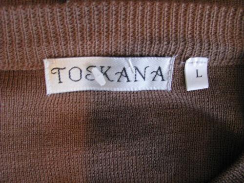 Doré Camel Couleur Créateurs L Ton Toscana Taille CardiganBoutons 100Coton v80PynNOmw