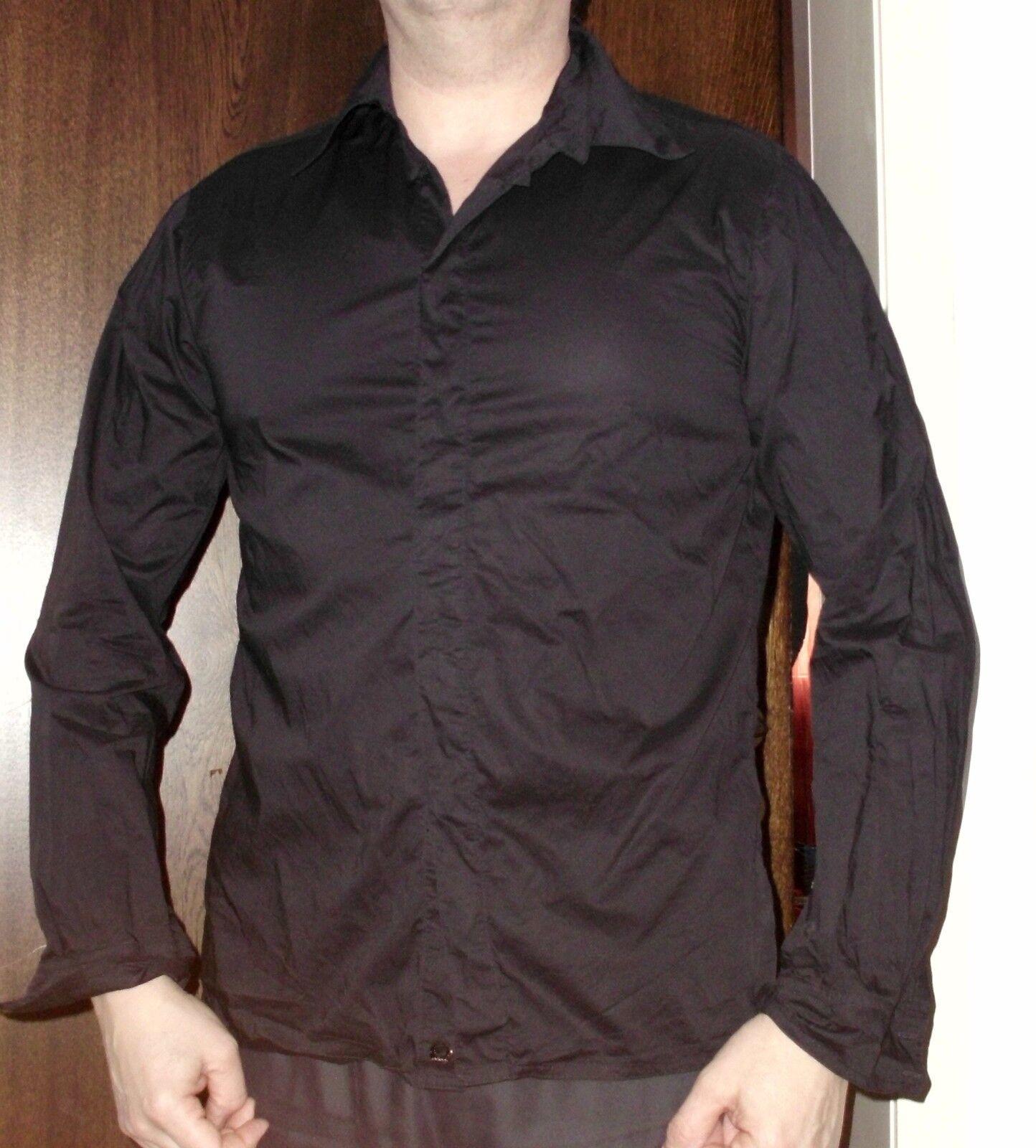Adidas FISHTAIL SHIRT black Gr. M, Baumwolle, bequem sitzend, langarm