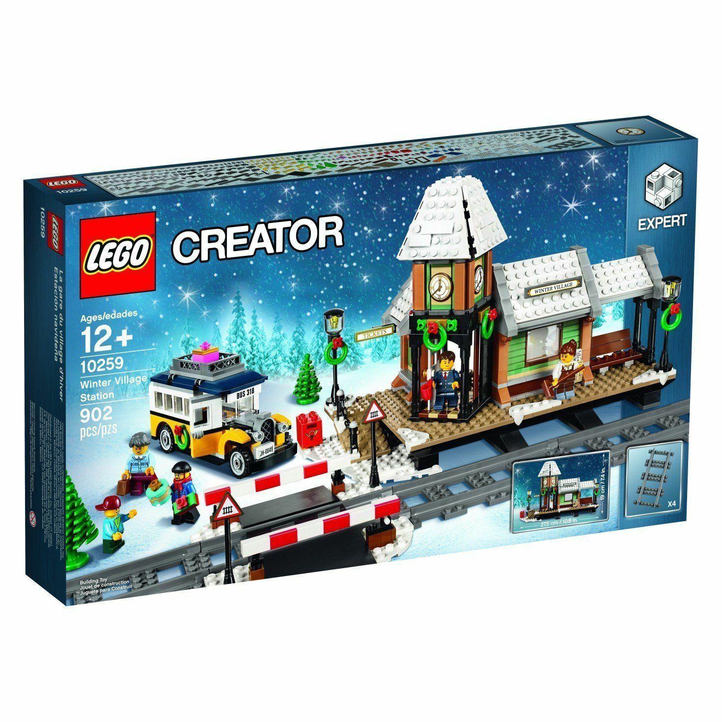 LEGO® Creator 10259 Winterlicher Bahnhof Neu & OVP passt zu 10263 10254