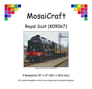 MosaiCraft-Pixel-Craft-Mosaic-Art-Kit-039-Royal-Scot-039-Pixelhobby