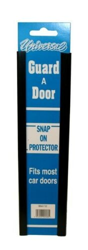 Black Door Edge Guard Protector Universal Snap On PAIR