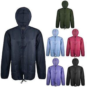 New-Lightweight-Unisex-Kagoul-Rain-Coat-Jacket-Mac-Kagool-Cagoule-S-XXL