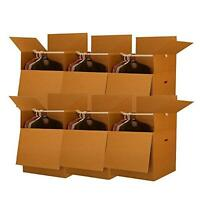 Shorty Space Saving Wardrobe Moving Boxes (bundle Of 6) 20 X 20 X 34 Moving B